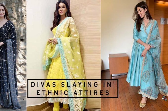 Bollywood Divas Slaying in Ethnic Attires