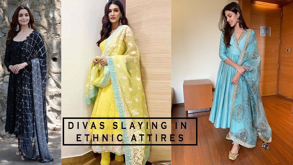 Bollywood Divas Slaying in Ethnic Attires