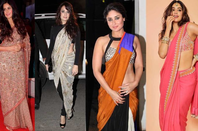 Top Images of Bollywood Actress in Saree