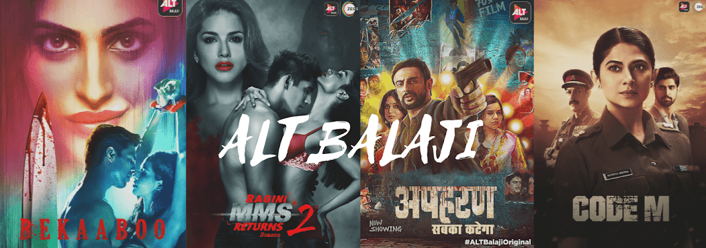 Popular Alt Balaji Web Series List For You