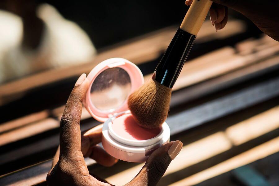 makeup blush brush